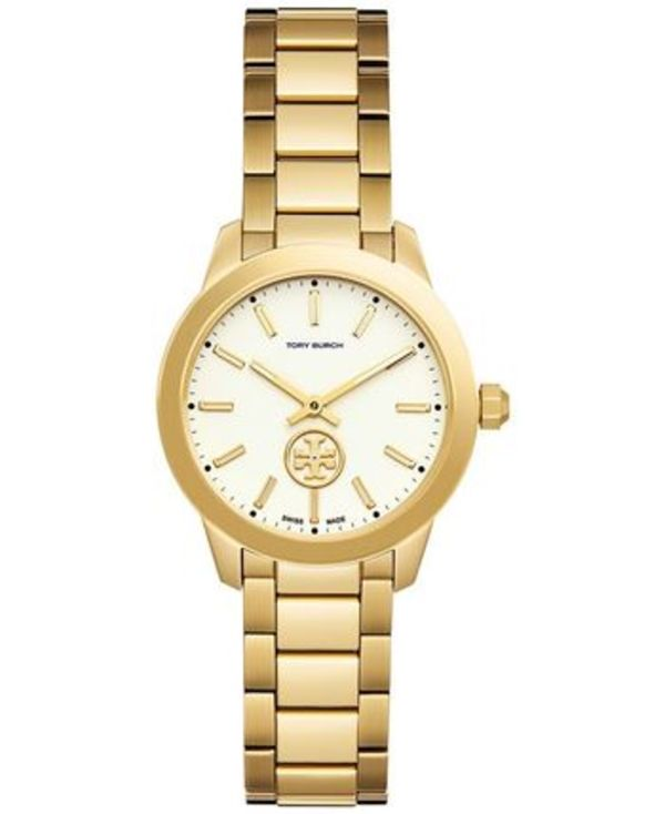 ★SALE☆人気Watch★Tory Burch ★Collins☆Yellow GOLD TB1300
