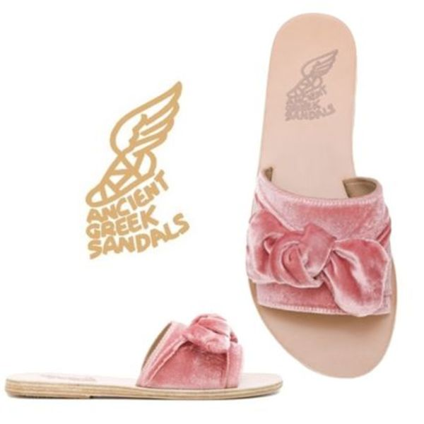MUSE4月号色違い★ANCIENT GREEK SANDALS★Taygete Bow サンダル