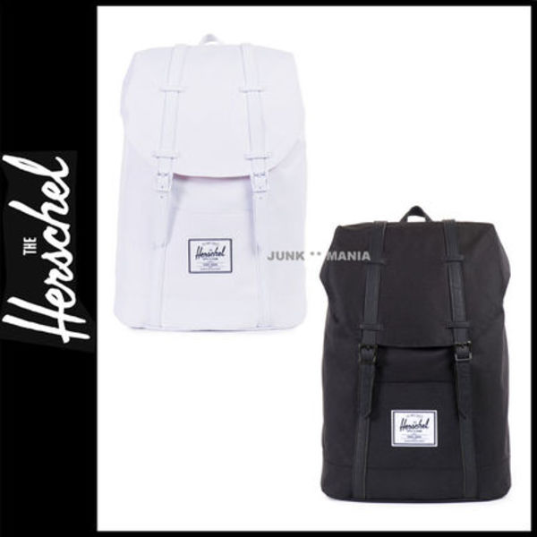★即日発送【関税返金・HERSCHEL SUPPLY】Retreat/Black&White