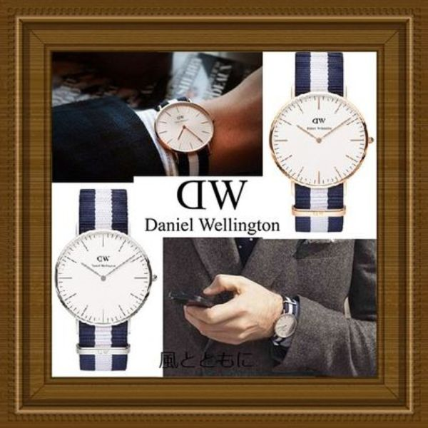 SALE【関税/送料込】Daniel Wellington Classic Glasgow 40mm