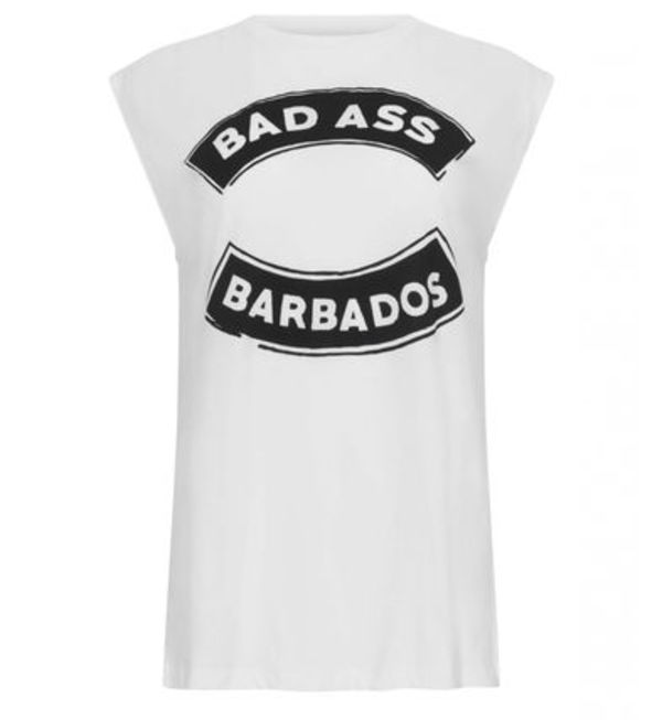 Etre Cecile - Bad Ass Barbados Boyfriend Tank