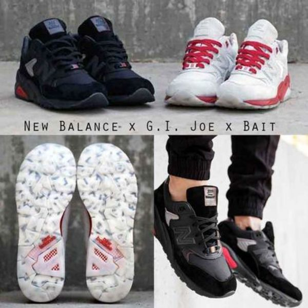New Balance x G.I. Joe x Bait 人気のコラボスニーカー
