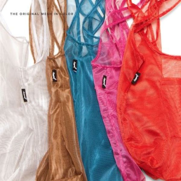 junes 丈夫でカッコイイ!万能メッシュバッグ THE MESH IN COLOR