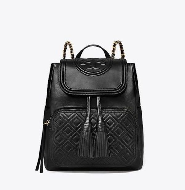 【 Tory Burch 】 FLEMING BACKPACK 2018SS バックパック 黒