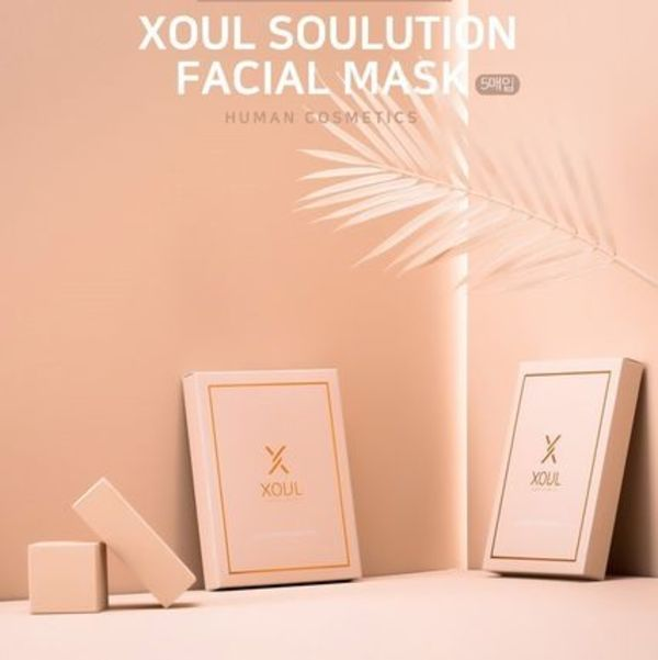 XOUL SOULUTION FACIAL MASK  5枚/1ボックス