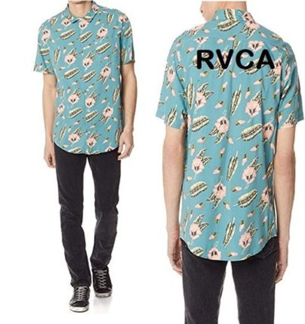 RVCAルカ Pelletier コラボ TROPIC Short Sleeve Shirt