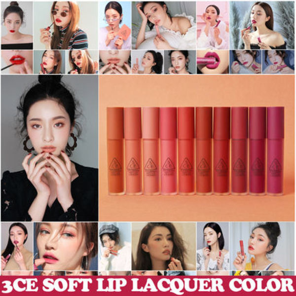 3CE SOFT LIP LACQUER  ソフトリップラッカー(全10色)
