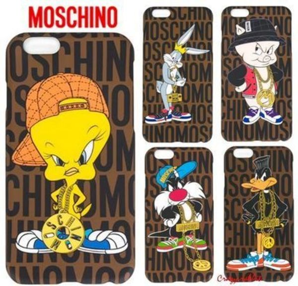 【Moschino】iPhone6/6 plus ケース(2015秋冬)