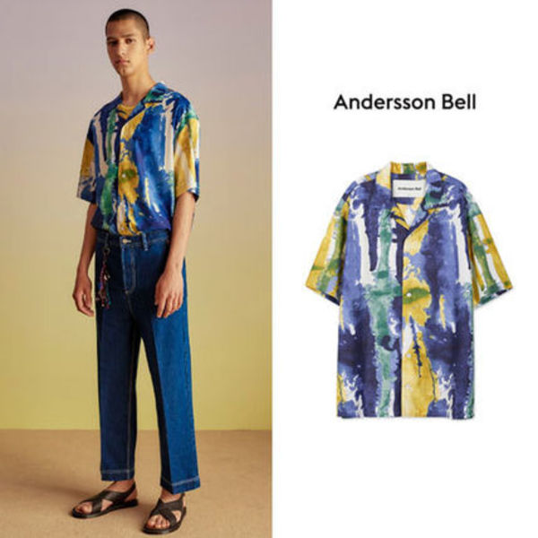 ANDERSSON BELL正規品★18SS ファンタシアプリントシャツ