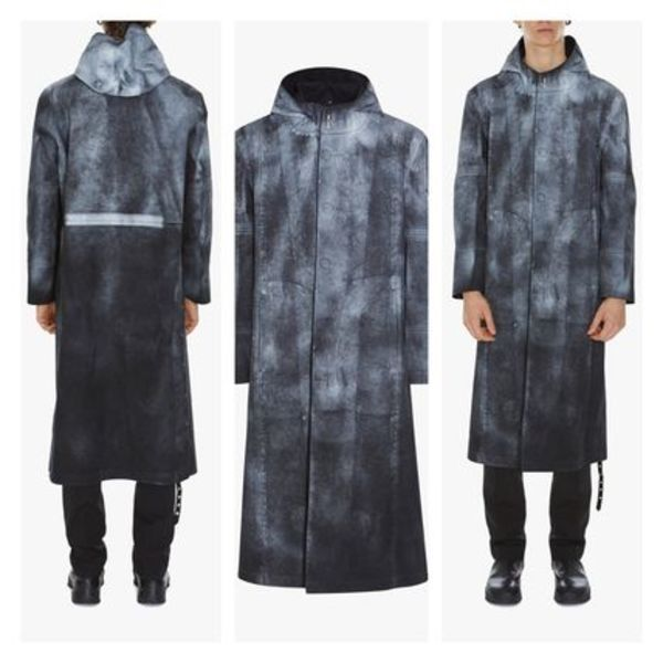 限定コラボAlyx×Mackintosh TREATED BONDED COTTON HOODED COAT