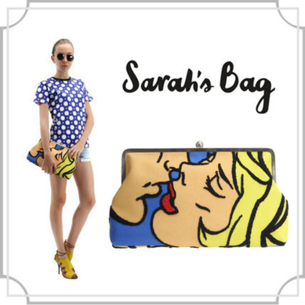 【Sarah's bag】Clutch Pop Art style