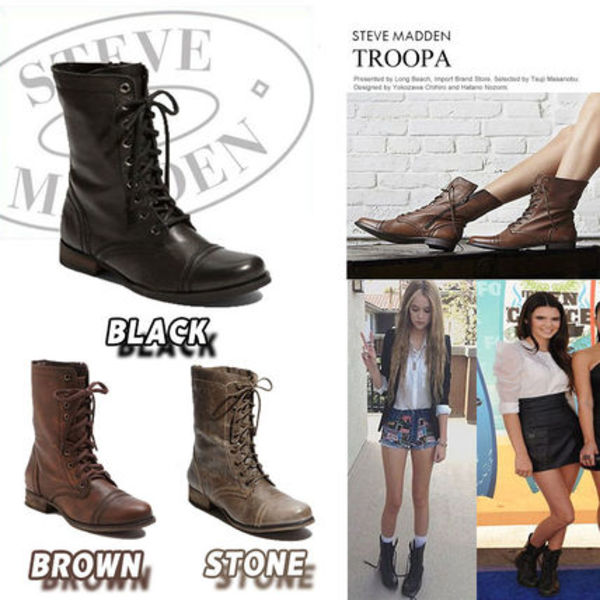 Troopa★Black/Brown/Stone(選べる3色)