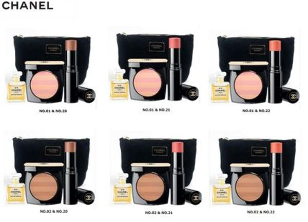 【CHANEL】★LE BEIGES★ポーチセット★フェイスパウダー+チーク
