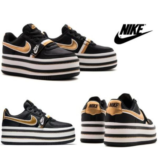 ☆NIKE VANDAL 2K Black/Metallic Gold☆