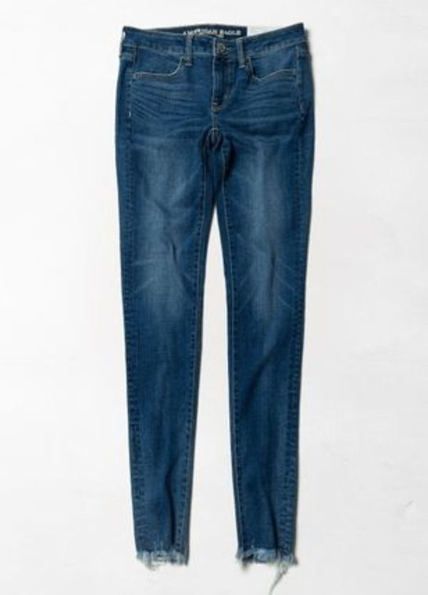 【送料無料】(Women)1301 Denim Destroyed Jogging Pants
