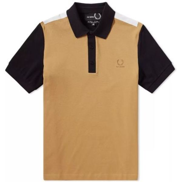 ★FRED PERRY X RAF SIMONS TAPE DETAIL PIQUE POLO 関税込★