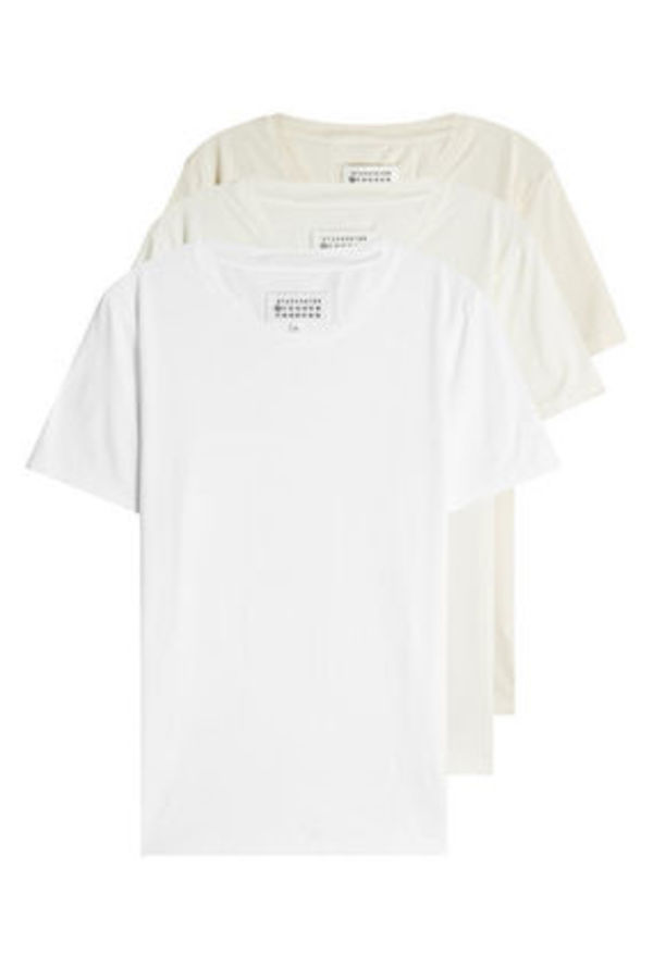 MAISON MARGIELA Pack of 3 Cotton T-Shirts