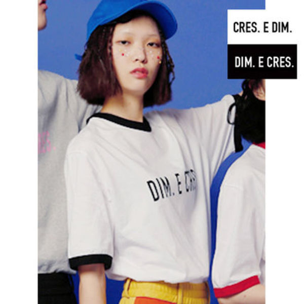 ★DIM E CRESロゴカットソー★