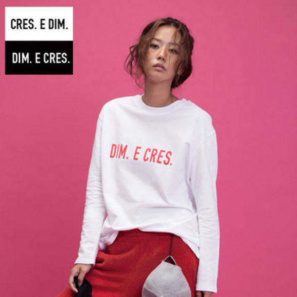 ★DIM E CRESロゴカットソー
