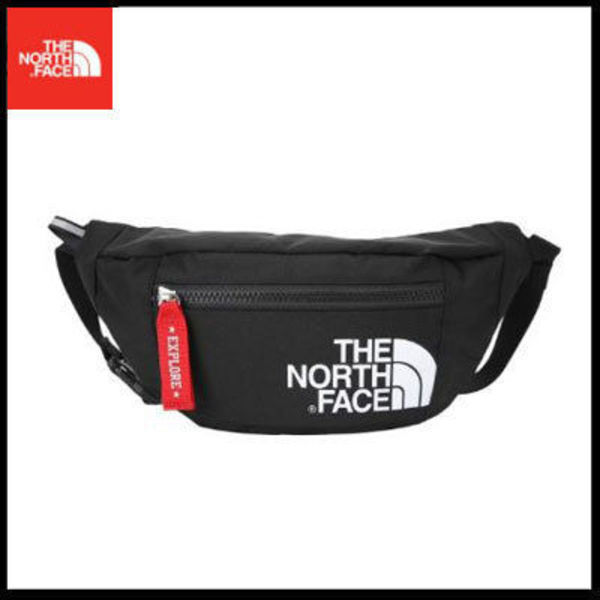 (ザノースフェイス) KIDS WAISTBAG L BLACK NN2HJ51R