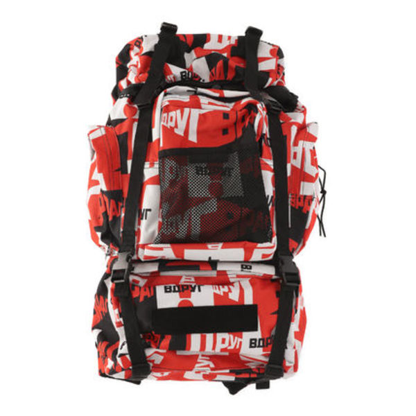 18AW Gosha Rubchinskiy Medium Graphic Backpack (Red)