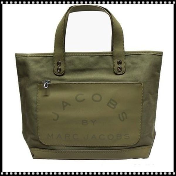 ◆Marc by Marc Jacobs/Laminated Twill Jacobs  トートバッグ
