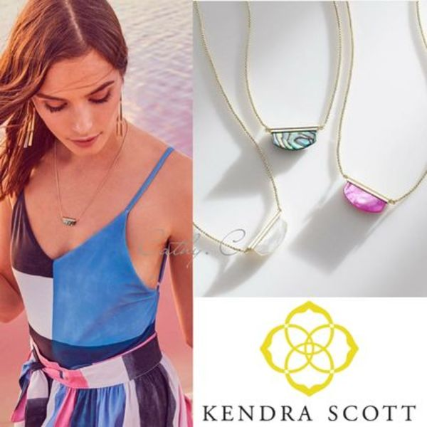 KENDRA SCOTT*新作/天然石/ネックレス/Dean Pendant Necklace