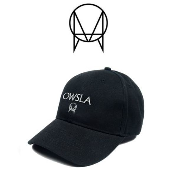 【OWSLA】☆18SS最新作☆ANGLO SCRIPT DAD HAT