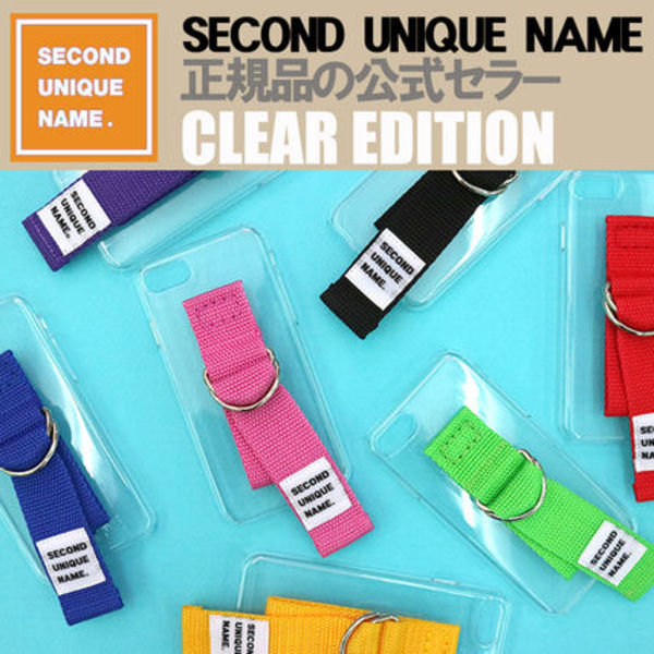 【NEW】「SECOND UNIQUE NAME」 CLEAR EDITION 正規品