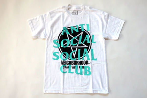 ANTI SOCIAL SOCIAL CLUB x Neighborhood Filth Fury Tee 白