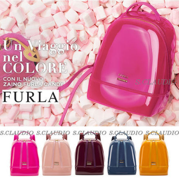 ☆FURLA☆【2015-16AW】キュート〓なCANDY バックパック*Varie