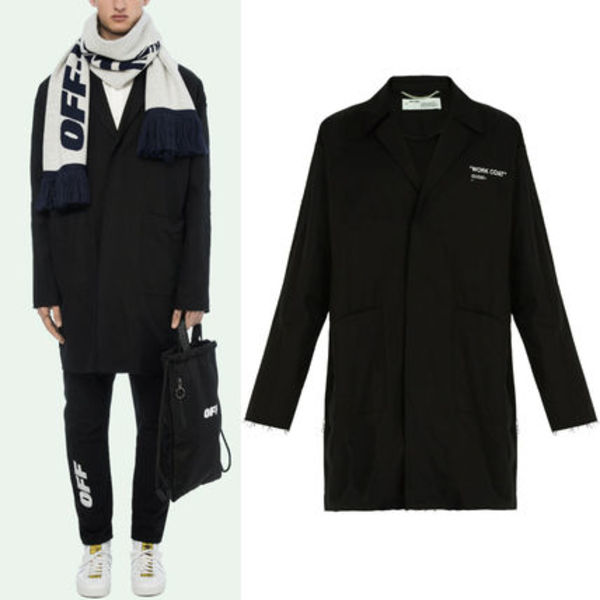 18-19AW OW055 QUOTE WORK COAT