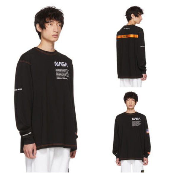 限定!! 岩田さん愛用 Heron Preston NASA Edition Long Sleeve