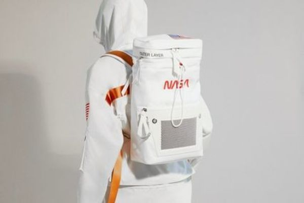 Heron Preston ×NASA WHITE BACKPACK