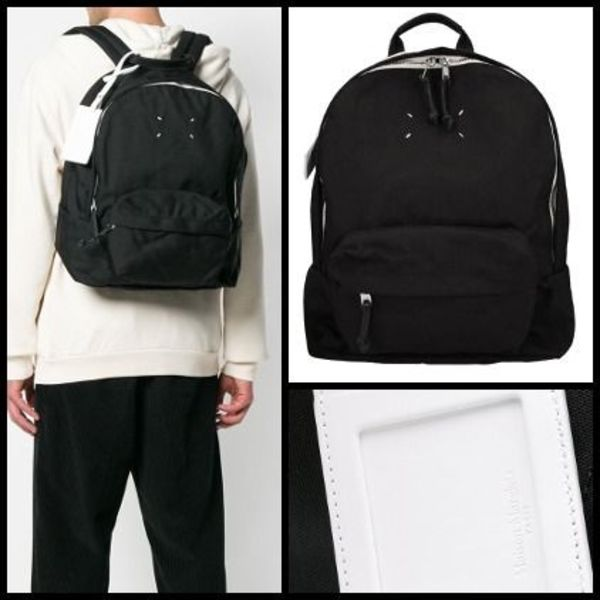 【関税送料込】NEW◆MaisonMargiela◆Black Nylon Backpack