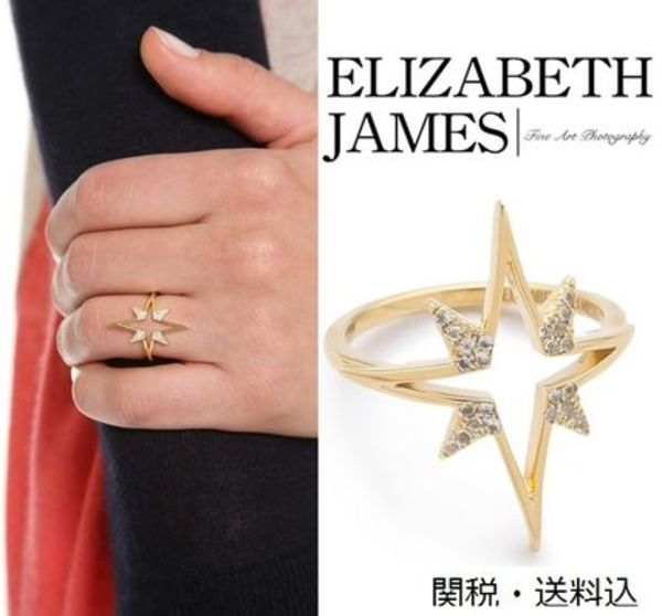関税・送料込【Elizabeth and James】Astral Ring リング