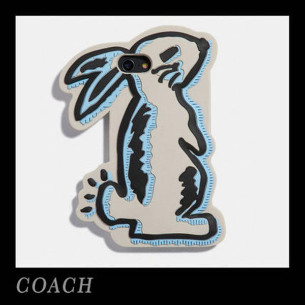 COACH☆COACH x Selena Bunny ウサギ iPhone 7/8 Case