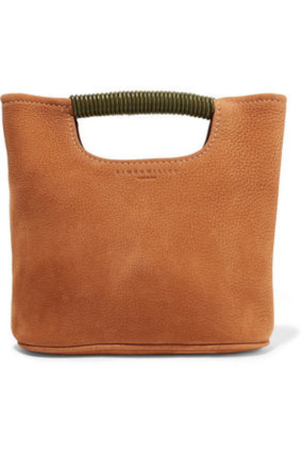 サイモンミラー   SIMON MILLER Birch Mini nubuck tote バッグ