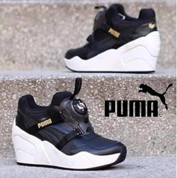 SALE★ローラ愛用★PUMA×Sophia Chang★ Disc ウェッジ Luxe★