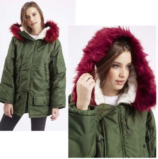 NEW★TOPSHOP★Peace Parka by Native Rose モッズコート☆