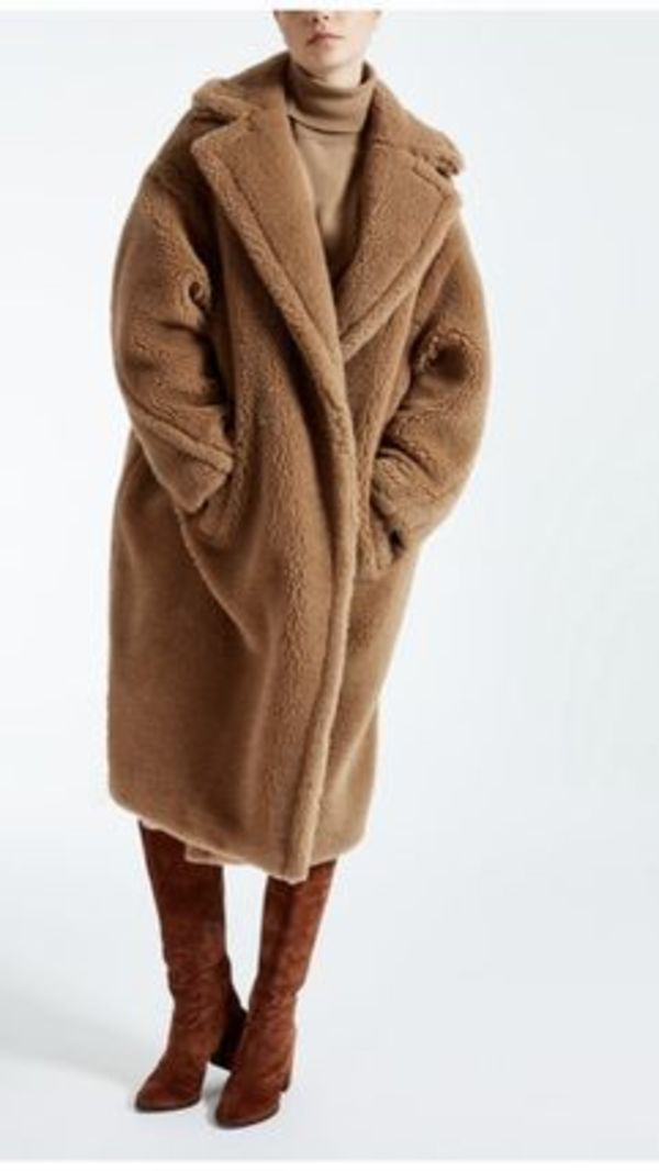 大人気【MaxMara】Teddy Bear Icon Coatイタリア発!