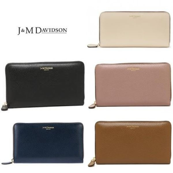 国内即発☆J&M Davidson☆L ZIP WALLET LEATHER