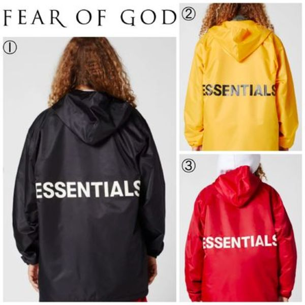 【FEAR OF GOD】☆18-19AW新作☆Hooded Coach Jacket