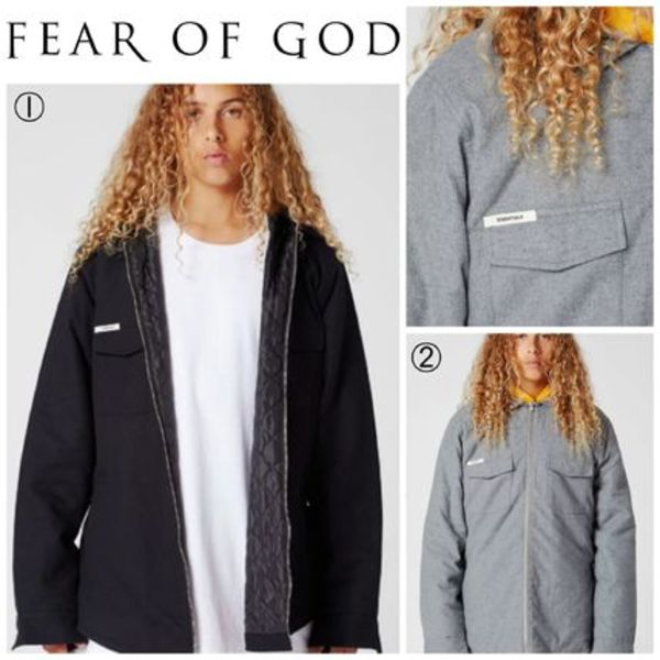 【FEAR OF GOD】☆18-19AW新作☆ Hooded Zip Shacket