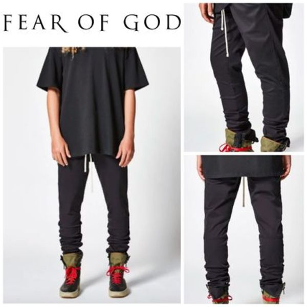 【FEAR OF GOD】☆18-19AW新作☆Drawstring Trouser Pants