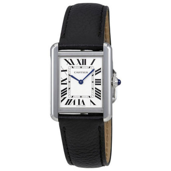 Cartier(カルティエ) Tank Solo Silvered Opaline Dial Ladies
