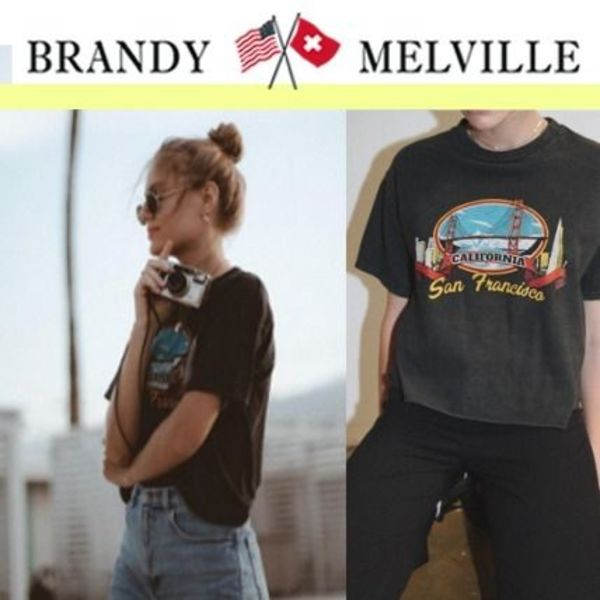 セレブ愛用ブランド★Brandy Melville_ALEENA SAN FRANCISCO TOP