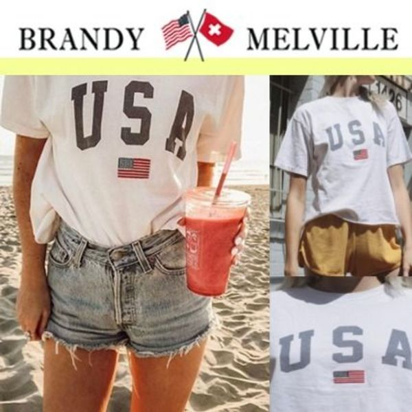 セレブ愛用♥ Brandy Melville_ALEENA USA TOP