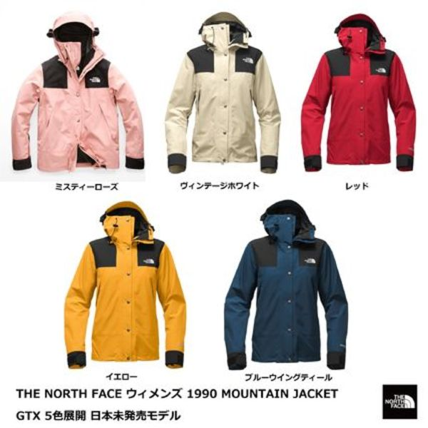 [The North Face] ウィメンズ 1990 MOUNTAIN JACKET GTX 5色☆