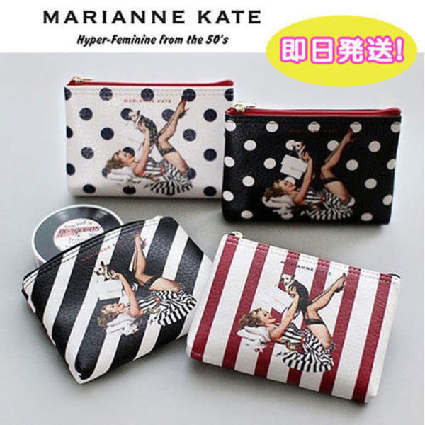 【関税・送料込】Marianne kate★Lucky Dog ポーチ(S)
